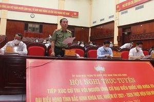 Thứ trưởng Trần Quốc Tỏ tiếp xúc cử tri tại thị xã Từ Sơn, Bắc Ninh