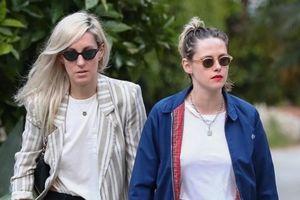 Kristen Stewart trang điểm đi chơi cùng bạn gái