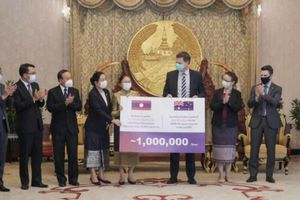 Australia viện trợ cho Lào 1 triệu liều vaccine ngừa Covid-19