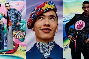 Những họa tiết tươi vui lan tỏa năng lượng tích cực trong chiến dịch của Dior Men