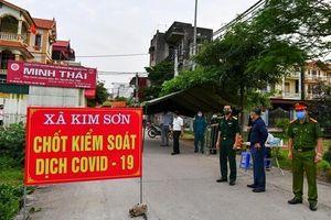 Xã Kim Sơn, Gia Lâm có thể là ổ dịch COVID-19 siêu lây nhiễm