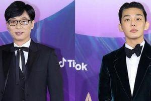 Baeksang 2021: MC Yoo Jae Suk phát ngôn xứng tầm Daesang, Yoo Ah In tặng giải cho khán giả