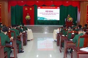 Đảng ủy Quân sự Bình Dương: Nghiên cứu, quán triệt Nghị quyết Đại hội XIII