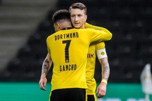 Highlights Leipzig - Dortmund: Sancho và Haaland lập cú đúp