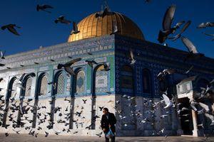 Thánh đường đối diện Vòm đá vàng thành nút thắt xung đột Israel - Gaza