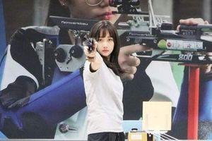 Người đẹp bắn súng nổi tiếng Đài Loan