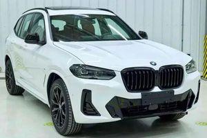 BMW X3 đời 2022 lộ diện, ngoại thất được làm mới