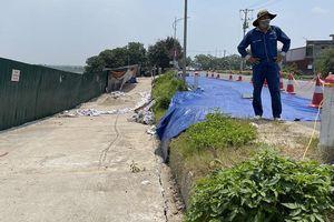Thi công dự án Nhà máy nước mặt sông Hồng: Gây nứt gãy tuyến đê hữu Hồng