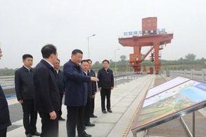 Ông Tập Cận Bình kiểm tra siêu dự án 'đảo hướng nước'