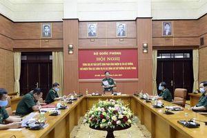 Phân công nhiệm vụ của lãnh đạo Bộ Quốc phòng