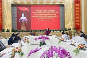 Phó Chủ tịch nước Võ Thị Ánh Xuân kiểm tra công tác bầu cử tại Lâm Đồng