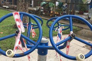 LƯU Ý: TP HCM tạm ngưng hoạt động thể chất, sinh hoạt hội nhóm... ở công viên
