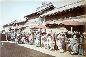 Bộ ảnh phản ánh cuộc sống Nhật Bản 1886 của nhiếp ảnh gia Italy