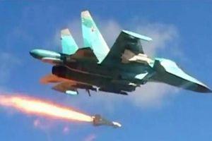 Chiến đấu cơ Nga oanh kích dữ dội nhóm khủng bố tại Syria