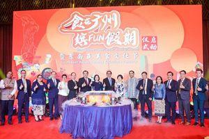 Tổng Lãnh sự quán Việt Nam tại Quảng Châu tham gia Lễ hội văn hóa ẩm thực Đông Nam Á