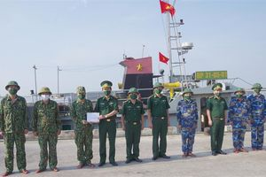 BĐBP Thừa Thiên Huế phát hiện và xử lý 3 tàu giã cào hoạt động sai tuyến