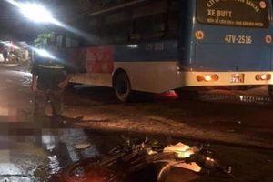 Tông trực diện xe buýt, 2 người đàn ông đi xe máy tử vong