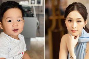 Khoe ảnh con trai, Hoa hậu Đặng Thu Thảo gây 'bão mạng' khi nhận lượng like 'khủng'