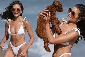 Hoa hậu hoàn vũ Olivia Culpo quyến rũ ngất ngây ở biển