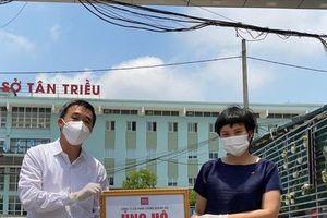 Trao tặng 2.800 bộ kit xét nghiệm trị giá 1 tỷ đồng cho Bắc Ninh
