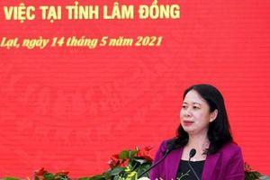 Phó Chủ tịch nước kiểm tra công tác bầu cử ở Lâm Đồng