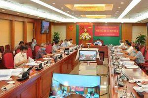 Ủy ban Kiểm tra Trung ương kỷ luật, đề nghị kỷ luật một số cá nhân và tổ chức Đảng