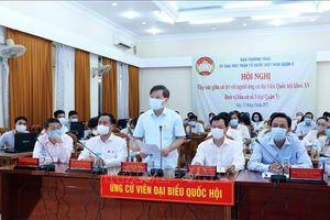 Hội nghị gặp gỡ cử tri trực tuyến - không chỉ là chống dịch