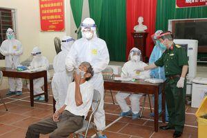 Bệnh viện Quân y 110 tham gia chống dịch tại Bắc Ninh