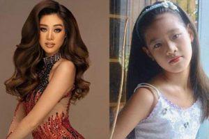 Loạt ảnh thuở nhỏ 'cực hiếm' của Khánh Vân, hóa ra từ bé nàng hậu đã xinh đẹp dễ thương thế này