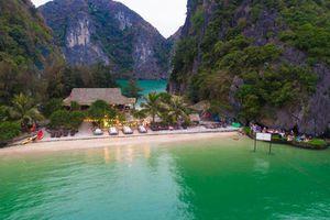 Vẻ đẹp hoang sơ của Đảo Tự Do trên vịnh Lan Hạ