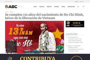 Báo Argentina đăng bài viết nhân kỷ niệm 131 năm ngày sinh Chủ tịch Hồ Chí Minh