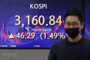 Hầu hết các thị trường chứng khoán châu Á phục hồi trong phiên 14/5