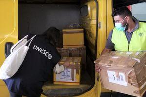 Unilever quyên góp máy tính cho hai trường học nhằm thúc đẩy giáo dục tại Beirut thông qua UNESCO