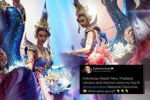 Trang phục dân tộc hoa hậu Thái Lan thiếu hiệu ứng, vướng scandal 'đạo nhái' vẫn hot rần rần