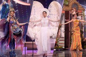 Vỡ òa cảm xúc với loạt trang phục dân tộc độc lạ và kì thú tại Miss Universe 2020
