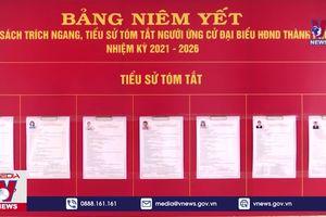 Kiểm tra công tác bầu cử tại Kon Tum