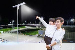 DAT Solar chính thức phân phối đèn năng lượng mặt trời Sokoyo tự động