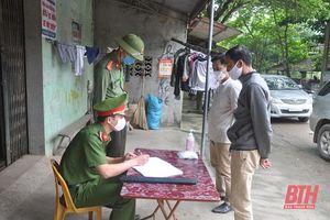 Huyện Nông Cống tăng cường đảm bảo ANTT, an toàn cho bầu cử
