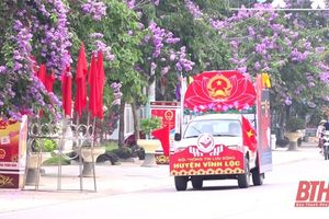 Đẩy mạnh tuyên truyền, cổ động chào mừng bầu cử trên địa bàn Thanh Hóa