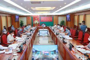 Kỷ luật cảnh cáo nhiều cán bộ đảng ủy quân sự Bạc Liêu, nguyên giám đốc công an tỉnh Sóc Trăng