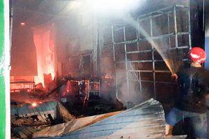 Một cửa hàng bán camera cháy rụi, thiệt hại hàng trăm triệu đồng