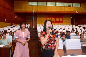 Tạo cơ hội cho nữ ứng cử viên