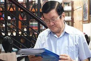 Công an TPHCM trao CCCD cho nguyên Chủ tịch nước Trương Tấn Sang