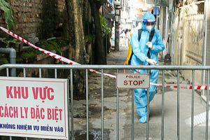 Lấy 48 mẫu xét nghiệm liên quan đến ca bệnh Covid-19 ở phường Hạ Đình (Thanh Xuân)