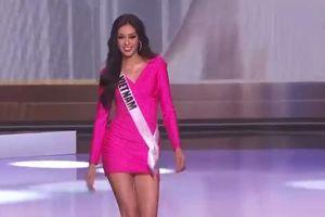Ngắm Hoa hậu Khánh Vân xinh đẹp xuất sắc trong các phần thi của đêm Bán kết Miss Universe