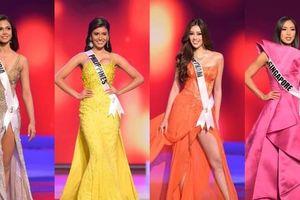 So sánh trang phục dạ hội của các đại diện đến từ châu Á, Hoa hậu Khánh Vân nổi bật nhất