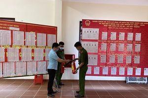 Chủ động kiểm tra phòng cháy, đảm bảo an toàn các điểm bầu cử