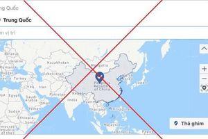Phạt 25 triệu đồng, thu hồi tên miền Công ty đăng bản đồ thiếu Hoàng Sa, Trường Sa