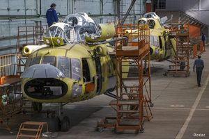 Thị phần trực thăng quân sự Nga... vẫn chưa bằng một nửa Mỹ
