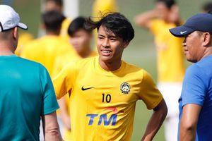 Sao trẻ được kỳ vọng giúp Malaysia lấy ngôi đầu của tuyển VN